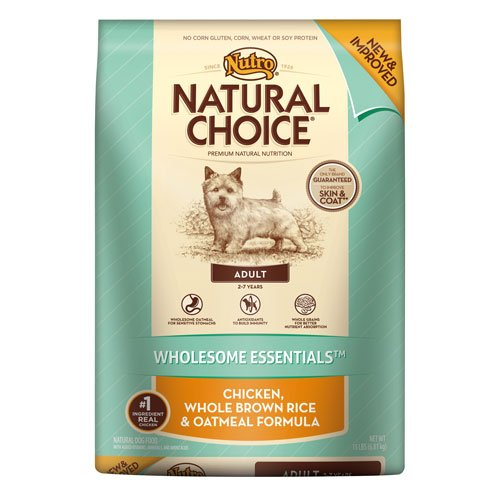 Nutro Natural Choice Chicken Meal, Rice & Oatmeal Formula, 15 Lbs