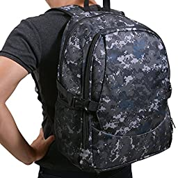 RLB XL Multi-Purpose Travel Diaper Backpack (Camouflage)