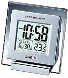 CASIO 温度計つき薄型デスクトップクロック DQ-735-8JF