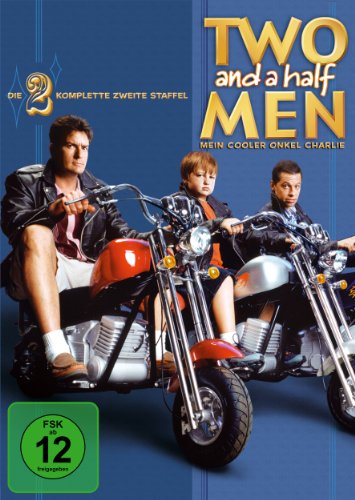 Two and a Half Men: Mein cooler Onkel Charlie - Die komplette zweite Staffel (4 DVDs)