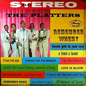 The Platters Remember When Amazon Com Music