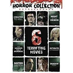 Horror Collection Extravaganza: 6 Terrifying Movies (Created to Kill, Shadow Play, Intimate Stranger, Night of the Demon, The Hooker Cult Murders, Sister,Sister)