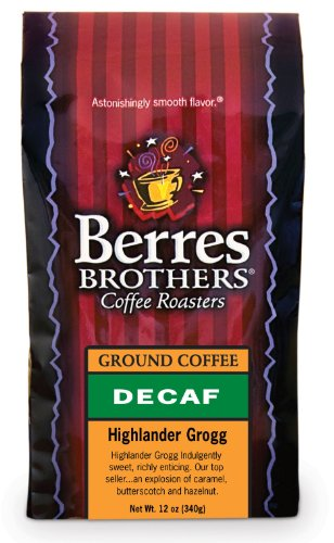 Berres Brothers Highlander Grogg Decaf Ground Coffee 12 Oz.