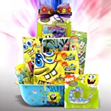 Best Gift Idea for Kids Spongebob Bowl of Fun and Games Great Get Well, Birthday Gift Baskets for Boys and Girls