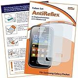 """2x mumbi Displayschutzfolie Samsung Galaxy Pocket Schutzfolie AntiReflex antireflektierendvon """"mumbi"""""""