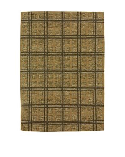 Tapis a Porter Alfombra Natural Verde 110 x 170 cm