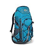 Lowe Alpine AirZone Centro 45+10 Pack - 2700cu in Dark Aqua/Midnight Blue, One Size