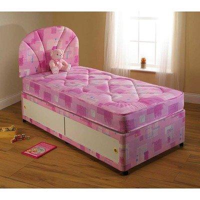Gemma Divan Bed Size: Single, Storage: Without drawer