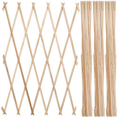 jago pflanzengitter holzgitter rankhilfe rankgitter f r. Black Bedroom Furniture Sets. Home Design Ideas