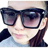 Fashion Full Plate Frame Triangular Rivet UV400 Women Sunglasses