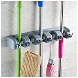 Sorbus® Broom and Mop Storage Organizer, Wall Mounted Organizer and Storage, Ideal for the Garage Home, Closet, and Shed, Can Hold up to 11 Different Type of Tools Like Mops Brooms Rakes Shovels Brushes Baseball Bats and Hats Great Quality Tool Rack
