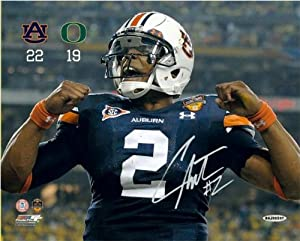 Cam Newton Autographed Auburn Tigers Celebration 16x20 Photo - Unframed and Limited... by Upper+Deck