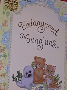 Endangered Young'uns Counted Cross Stitch Charts