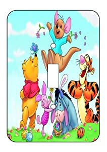 winnie the pooh Light Switch Plate Cover!! Brand New