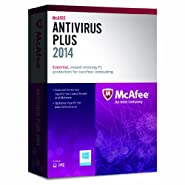 McAfee AntiVirus Plus 2014 - 1 User (PC)