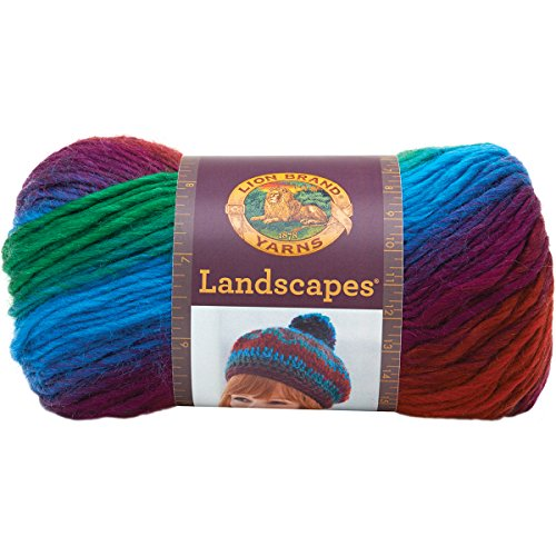 Crocheting Yarn For Sale : Yarn 545-205 Landscapes Yarn, Apple Orchard on Sale Today! Crochet ...