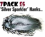 Pack of 7 'Silver Sparkler' Hanks for...