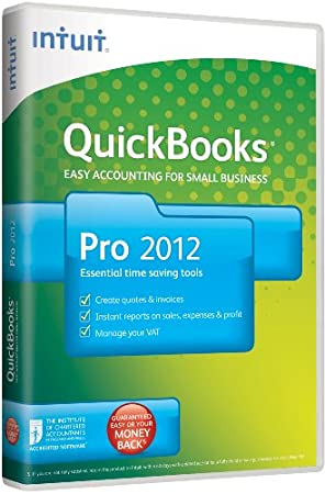 QuickBooks Pro 2012, 1 User (PC)
