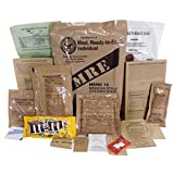Genuine Military MRE Meal with Inspection Date September 2017 or Newer (Maple Pork Sausage)