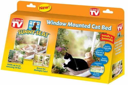 Sunny Seat Window Cat Bed