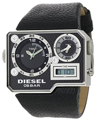 diesel s dz7101 black sba analog digital