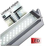 Küchen- und Vitrinenleuchte Vitrinenlampe LED in den Längen 350 mm