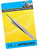 TWEEZERS TYPE 2 SA 120MM, Overall Length: 120mm, SVHC: No SVHC (19-Dec-2011) Tweezer Body Material: Stainless Steel, Tweezer Tip Material: Stainless Steel, Tweezer Type: Flat, Handle Material: Antimagnetic Steel, Length: 120mm