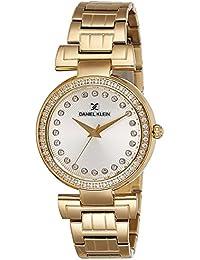 Daniel Klein Analog Silver Dial Women's Watch - DK11089-1