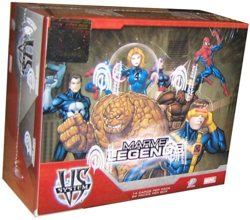 Imagen de Marvel VS System Trading Card Game Marvel Legends Booster Packs Caja de 24