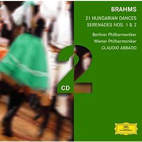 Brahms: Serenades; Hungarian Dances