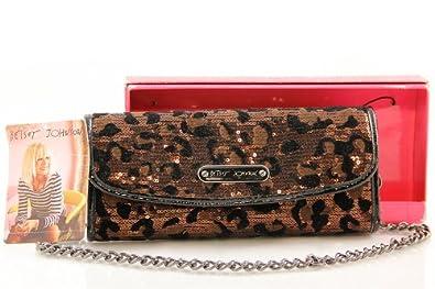 Best Buy! Betsey Johnson Bronze Cheetah licious Animal Print