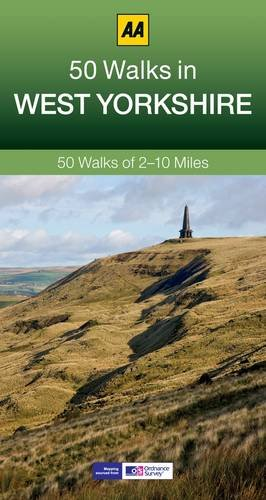 West Yorkshire: AA 50 Walks (50 Walks in)