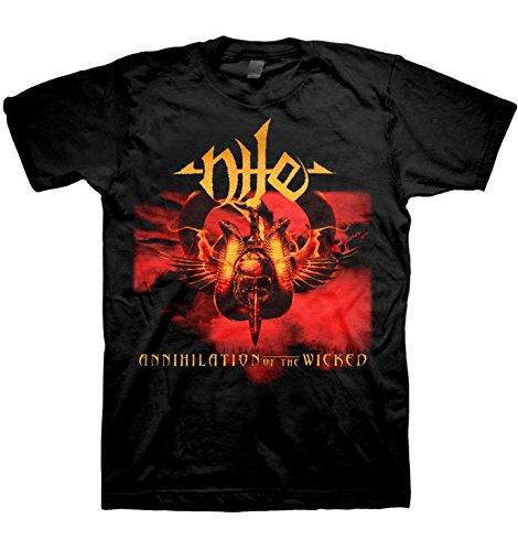 Nile -  T-shirt - Uomo nero X-Large