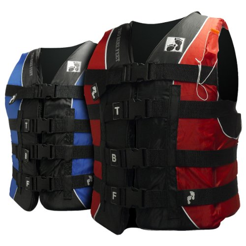 50N Buoyancy Aid Life Jacket Adult Lifejacket (X-Large, Blue)