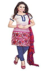 ZHot Fashion crepe Multicolor Designer Printed Salwar Suit (ZHPK1004B)