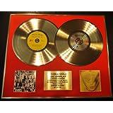 ROLLING STONES/Zweifache Goldene Schallplatte DISPLAY/Limitierte Edition/COA/EXILE ON MAIN ST. & GOATS HEAD SOUP