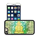 MSD Premium Apple iPhone 6 iPhone 6S Aluminum Backplate Bumper Snap Case IMAGE ID: 11277112 Chinese Traditional Artistic Buddhism Pattern