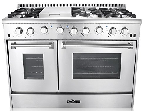 48-6-Burner-Gas-Range-With-Double-Oven-and-Griddle