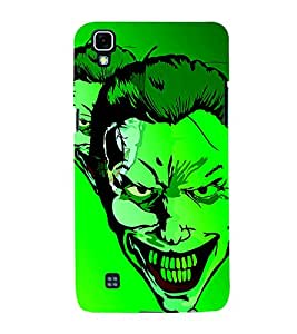 dangerous Face 3D Hard Polycarbonate Designer Back Case Cover for LG X Power