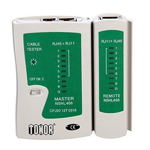 Tonor TM RJ45 RJ11 RJ12 CAT5 CAT 6 UTP Network Lan Cable Tester Test Tool