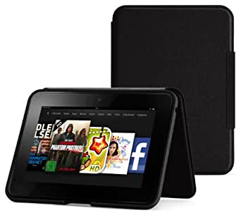 Amazon Kindle Fire HD Lederhülle (2. Generation - 2012 Modell), Onyx-Schwarz