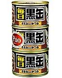 黒缶 毎日 黒缶3P ささみ入りかつお×18個入り