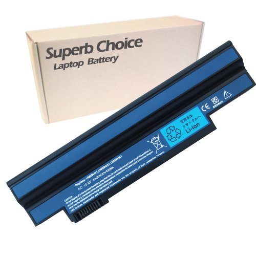 Superb Choice New Laptop Replacement Battery for Acer Aspire One 532h NAV50 all Series P/N: UM09G31 UM09G41 UM09G51 UM09H31 UM09H41, 6cells 4400mAh