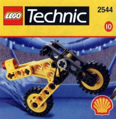 Lego SHELL Promotional Set #10: Technic Microbike Set #2544 - 1