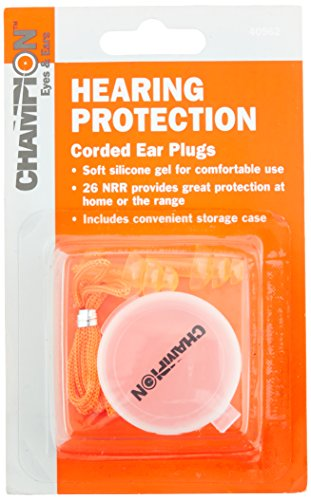 Why Choose Champion Gel Corded Ear Plugs with Case