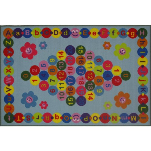 Happy Learning Letters & Numbers Area Rug 51
