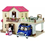 Sylvanian Families Maple Manor with Carport Playset