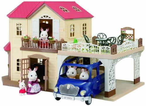 Sylvanian Families - Landgut mit Carport [UK Import]