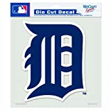 MLB Detroit Tigers 8-by-8 Inch Diecut Colored Decal