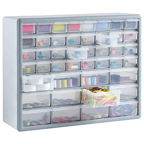 vonhaus-44-multi-drawer-storage-cabinet-organiser-white-grey-free-2-year-warranty